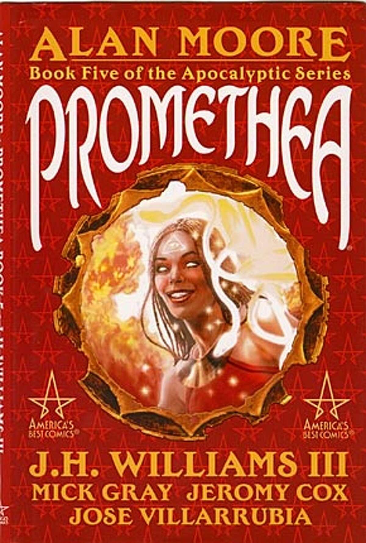 """book cover """"promethea"""""""