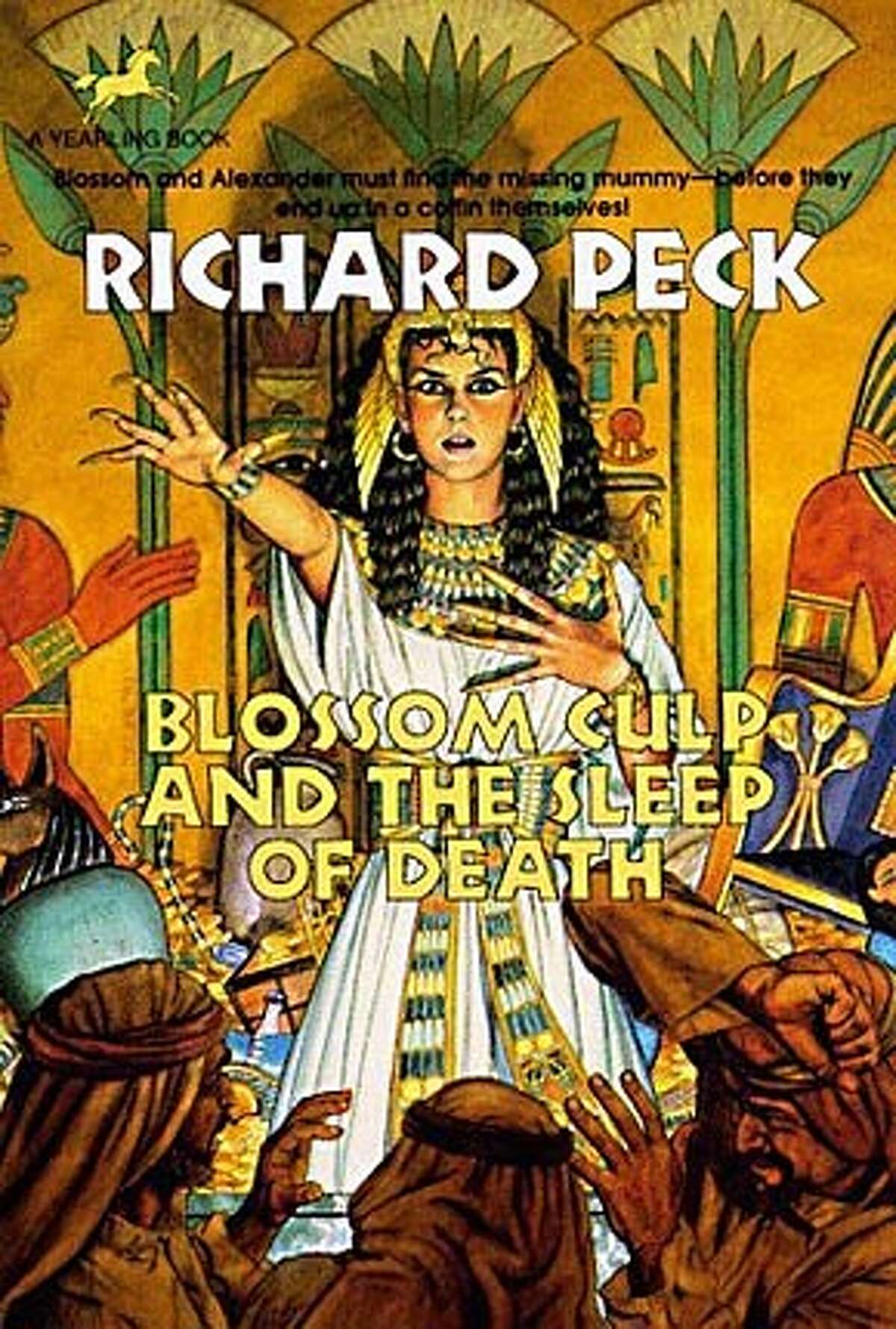 """Book cover art for, """"Blossom Culp and The Sleep of Death"""" by Richard peck. BookReview#BookReview#Chronicle#08-28-2005#ALL#2star#C6#0423201239"""