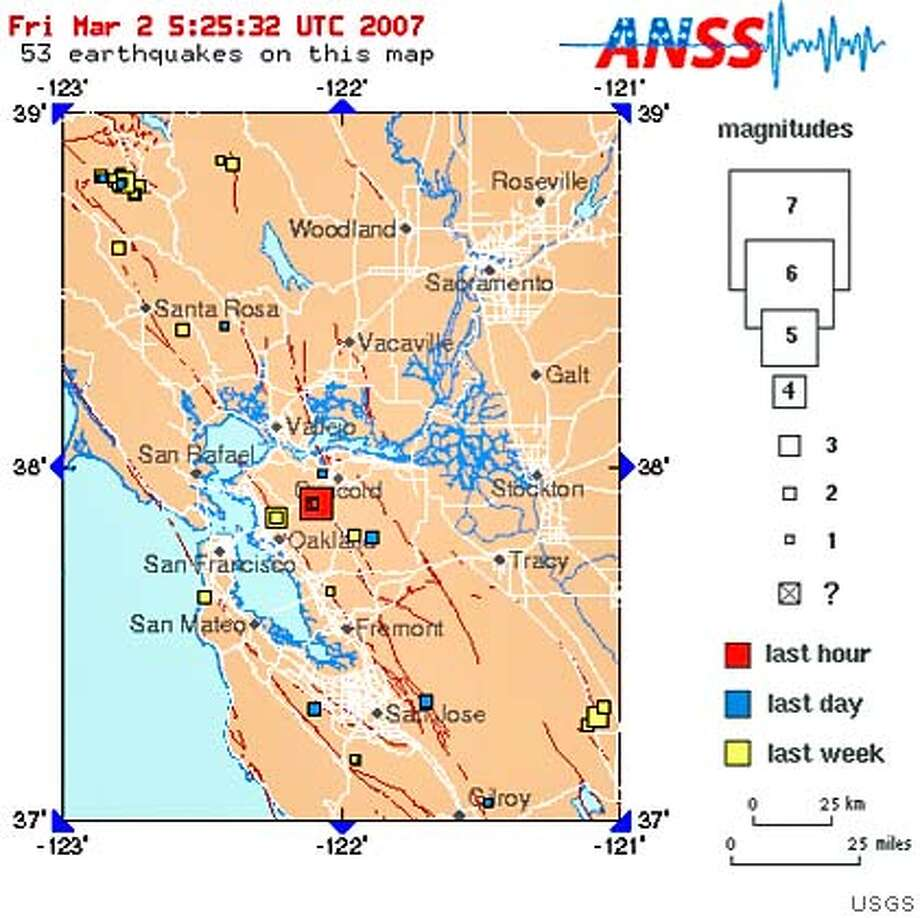 A 4.2 quake shook the bay area. Temblor was centered near Lafayette. No reports of damage or injuries.