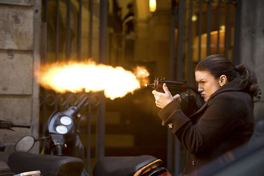 """An undated handout photo of Gina Carano in Steven Soderbergh's revenge thriller, """"Haywire."""" Carano, a mixed martial arts fighter, makes her major-film debut as a lethal covert operator in Soderbergh's film, which opens on Jan. 20, 2012. Claudette Barius/Five Continents Imports, via Relativity Media via The New York Times) -- NO SALES; FOR EDITORIAL USE ONLY WITH STORY SLUGGED FILM-HAYWIRE-ADV08 BY MARGY ROCHLIN. ALL OTHER USE PROHIBITED. -- PHOTO MOVED IN ADVANCE AND NOT FOR USE - ONLINE OR IN PRINT - BEFORE JAN. 8, 2012. Photo: Claudette Barius, New York Times"""