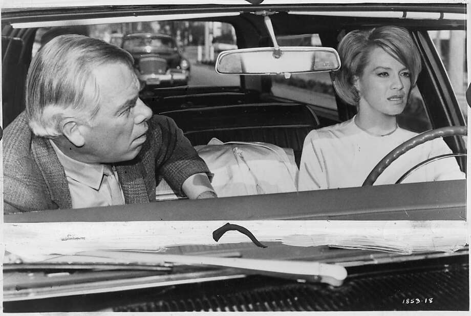 "Lee Marvin and Angie Dickinson in ""Point Blank."" Photo: Chronicle Archive, MGM Studios, 1967"