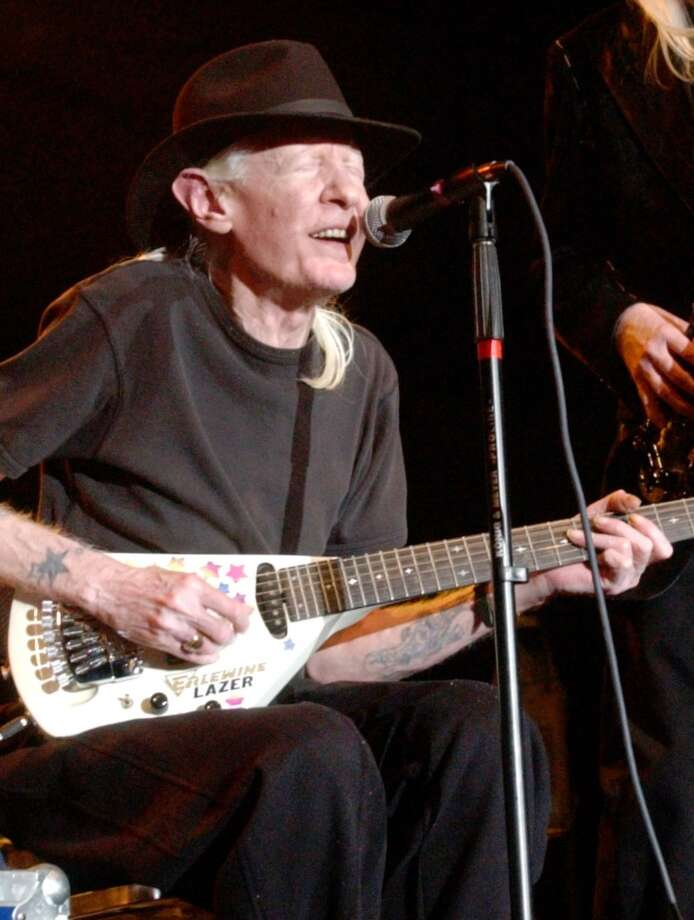 Johnny  Winter performs at the Beaumont Civic Center in November, 2005. Enterprise file photo Photo: File