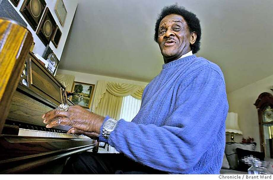 mccracklin227.JPG  Jimmy McCracklin keeps a piano in the living room. Jimmy McCracklin is over 80 years old now. The famous R&B singer used to rule the Oakland music scene. He still performs locally and has recently finished a European tour. He is photographed here at his home in Richmond.  {Brant Ward/San Francisco Chronicle}2/19/07 Photo: Brant Ward