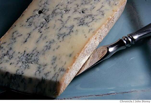 Bleu de Gex, cow's milk cheese from France. John Storey San Francisco Event on 7/21/05  - Photo: John Storey
