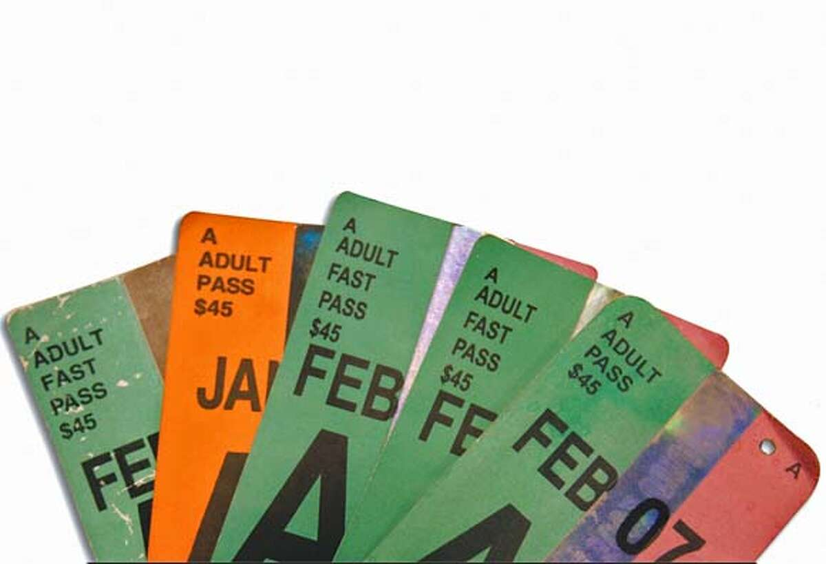 At a glance, counterfeit Muni FastPasses can look like the real thing.