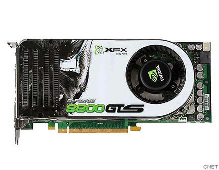 �Next-gen graphics cards - XFX GeForce 8800 GTS. Photo: CNET