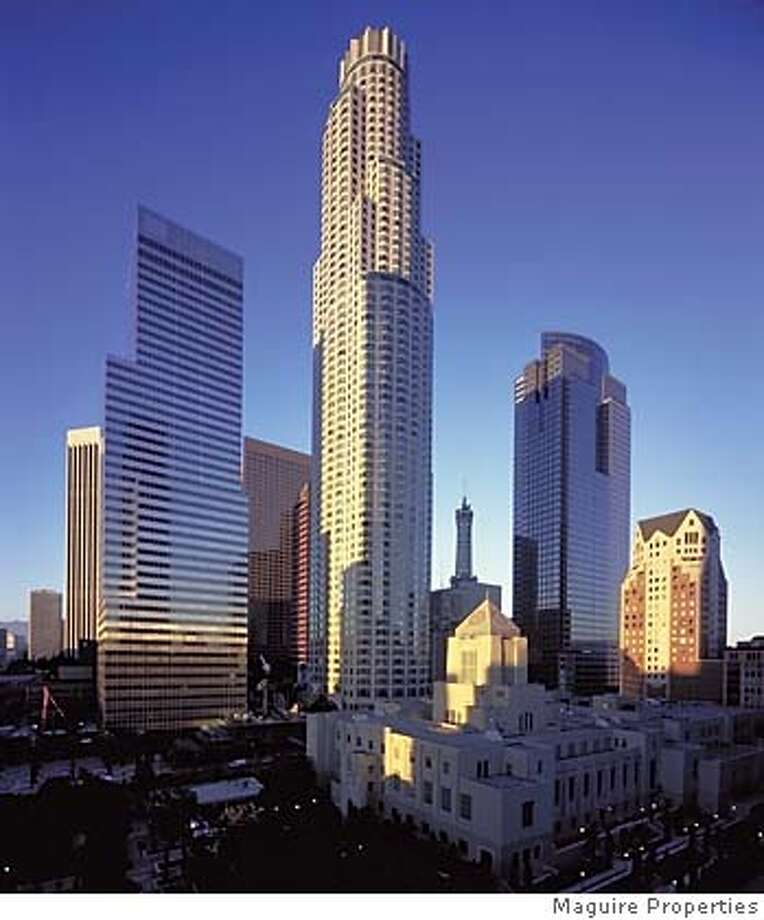 verizon22007.jpg the US Bank Tower in Los Angeles. Courtesy Maguire Properties / MANDATORY CREDIT FOR PHOTOG AND SF CHRONICLE/ -MAGS OUT