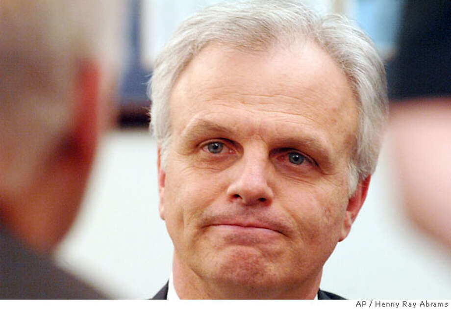 JetBlue Airways founder and chief executive David Neeleman addresses his company's recent problems during an interview at the company headquarters in Queens, New York, Tuesday, Feb. 20., 2007. JetBlue Airways introduced a customer bill of rights that promises vouchers to fliers who experience delays, hoping the move wins back passengers after an operational meltdown damaged its brand and stock price. (AP Photo/Henny Ray Abrams) Photo: Henny Ray Abrams