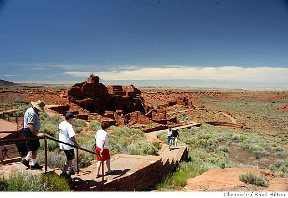 Northern Arizona Wupatki National Monument on 5/21/05.  Spud Hilton / The Chronicle Photo: Spud Hilton