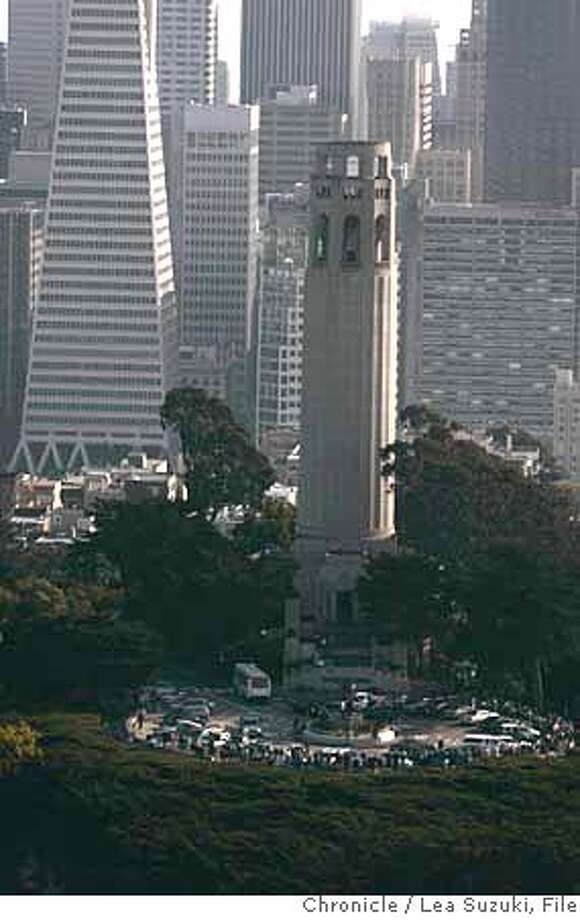 Makeover May Be Coit Tower S Gift For 75th Birthday Sfgate