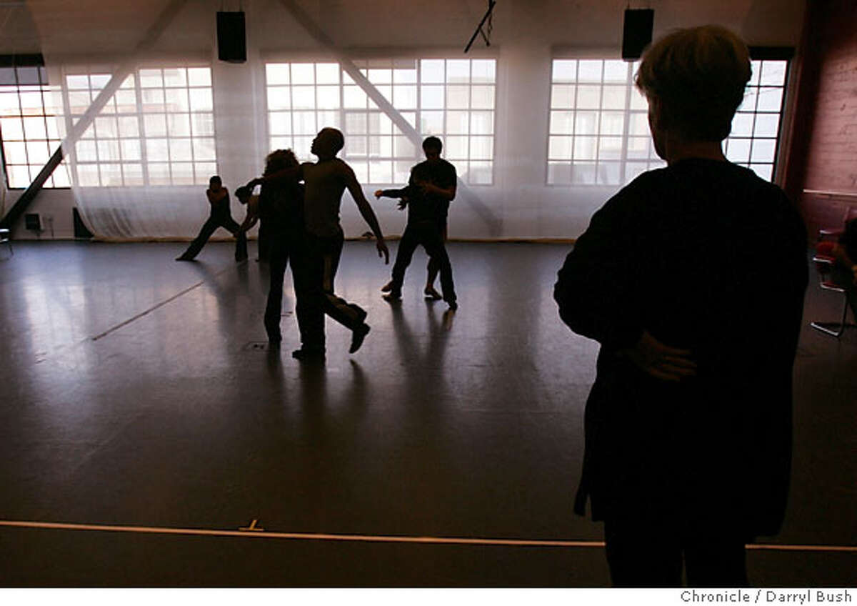 brendaway_0014_db.JPG Brenda Way, artistic and executive director of ODC Dance Center, watches a rehearsal as she directs dancers for the upcoming