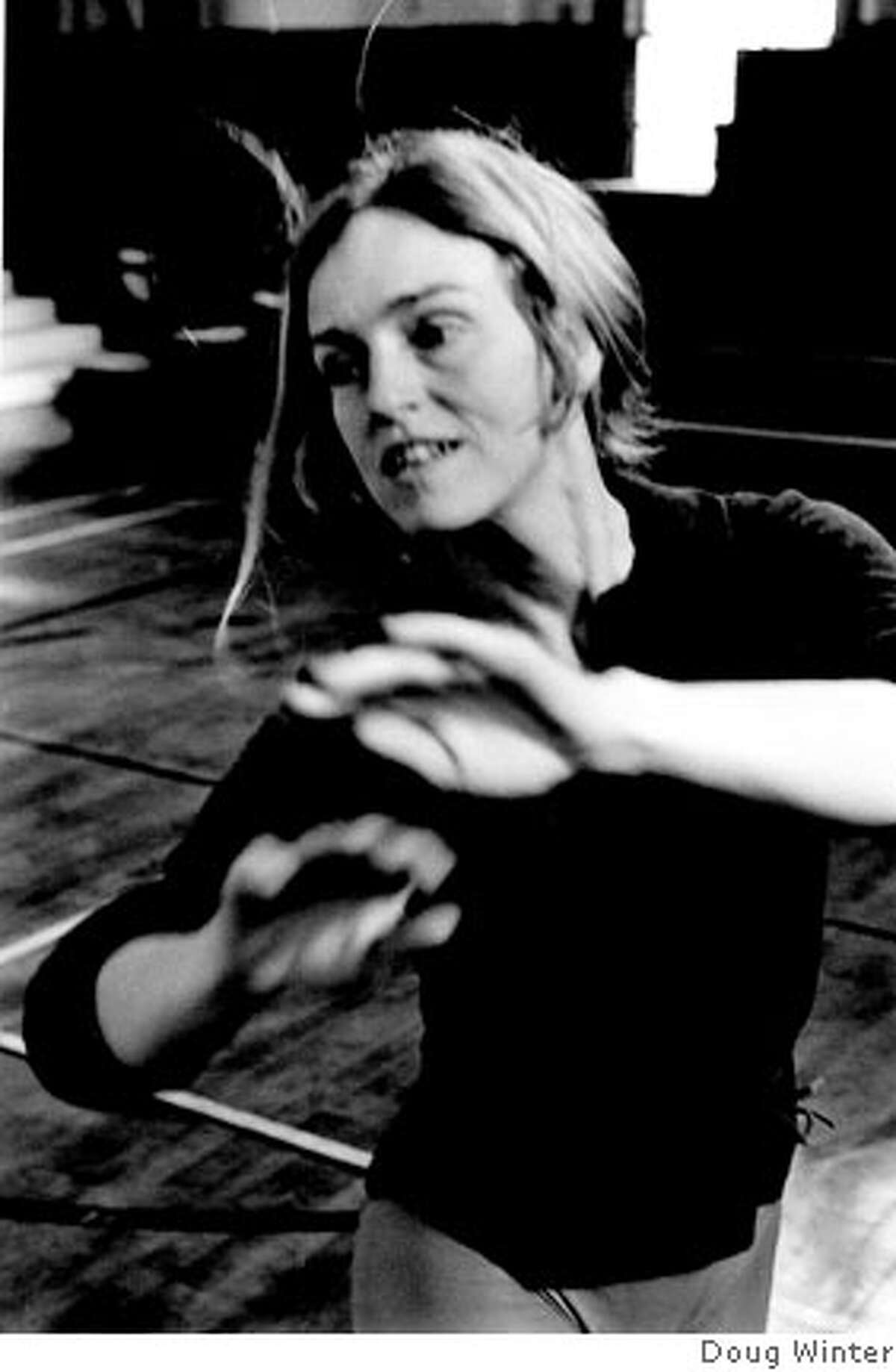 Dancer Brenda Way. Photo credit: Doug Winter (taken around 1971 at Oberlin College).