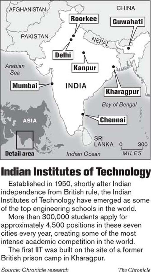 Indian Institutes of Technology. Chronicle Graphic