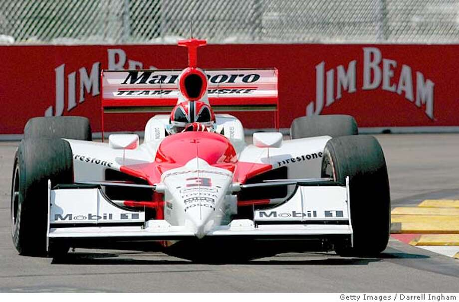 ST.PETERSBURG, FL - APRIL 1: Helio Castroneves driving the #3 Marlboro Team Penske Dallara Toyota during practice for the Indy Racing League Indycar Series Honda Grand Prix of St.Petersburg on April 1, 2005 on the streets of St.Petersburg, Florida. (Photo by Darrell Ingham/Getty Images) *** Local Caption *** Helio Castroneves Ran on: 04-14-2005 Ran on: 04-14-2005 Ran on: 04-14-2005 Photo: Darrell Ingham