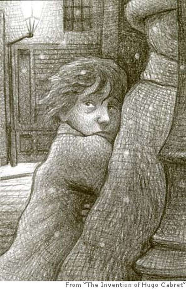 """KIDSGRAPHIC25.jpg Illustration from """"The Invention Of Hugo Cabret"""" handout/ handout Photo: Handout"""