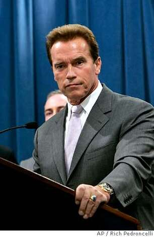 In Gov. Arnold Schwarzenegger's plan for redistricting, the guidelines laid out mean that any competitiveness gains would be accidental. Associated Press photo by Rich Pedroncelli