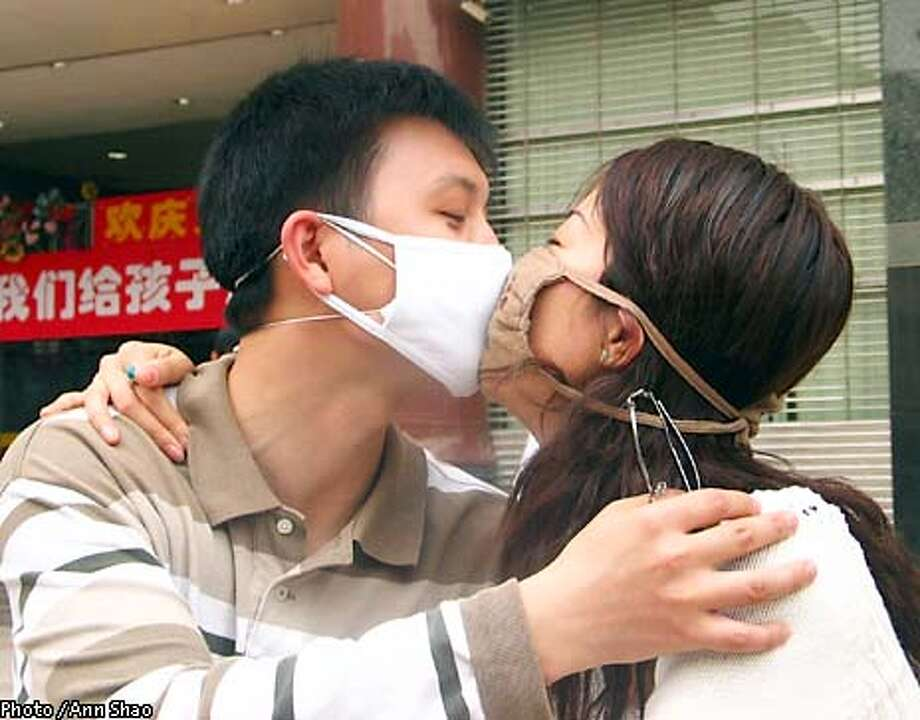 photo of couple in Beijing Photo / Ann Shao special to the Chronicle.