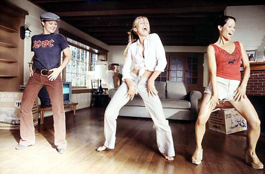 """Drew Barrymore, Cameron Diaz and Lucy Liu in """"Charlie's Angels: Full Throttle."""""""