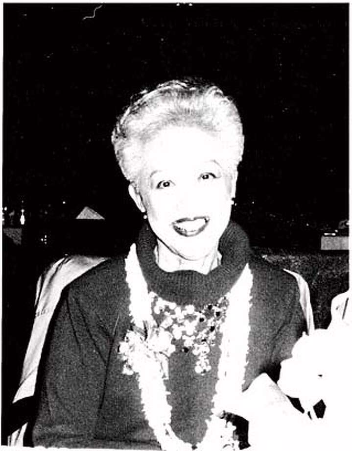 Attached is a photo of Rebecca Chow Eastman, taken on her 80th birthday party, in 1990.