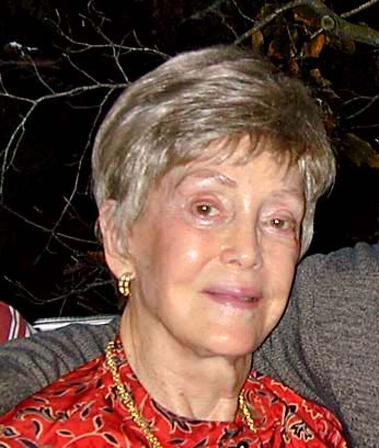 This is a recent photo and proposed obituary for my mother Joan Hayes, who died on August 6th. You can verify with Gene Kaufman or Tom Halleron at Sinai Memorial Chapel, where the funeral service was held 415 921 3636.