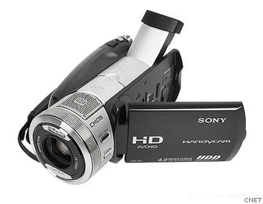 �Affordable high-def camcorders - Sony Handycam HDR SR1. Photo: CNET