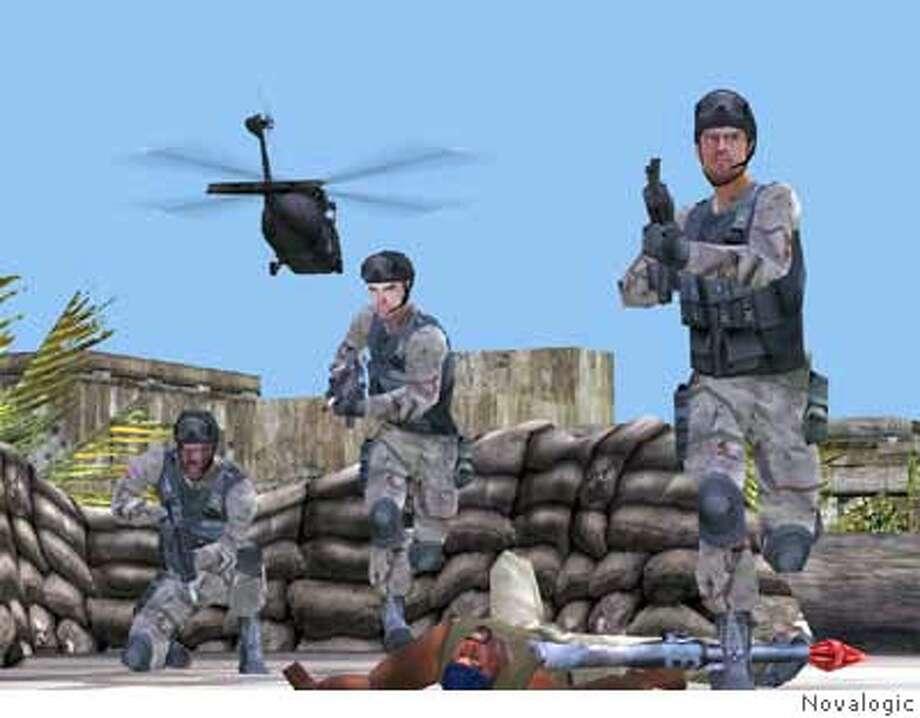 GAMES16 Delta Force: Black Hawk Down by Novalogic.