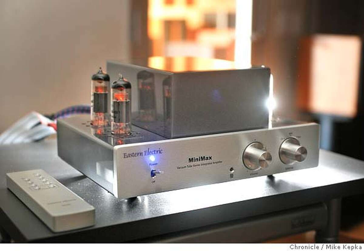 chinesehifi1900040_mk.JPG The Chinese made Eastern Electric Minimax Integrated Amplifier, selling for just under $1,000, is compared in quality many amps 2 or 3 times its cost. Audio Vision in San Francisco sells high end stereo equipment from all over the world and considers Eastern Electric components designed and built in China to be some of the best stuff on the market. Mike Kepka / The Chronicle (cq) the source MANDATORY CREDIT FOR PHOTOG AND SF CHRONICLE/NO SALES-MAGS OUT