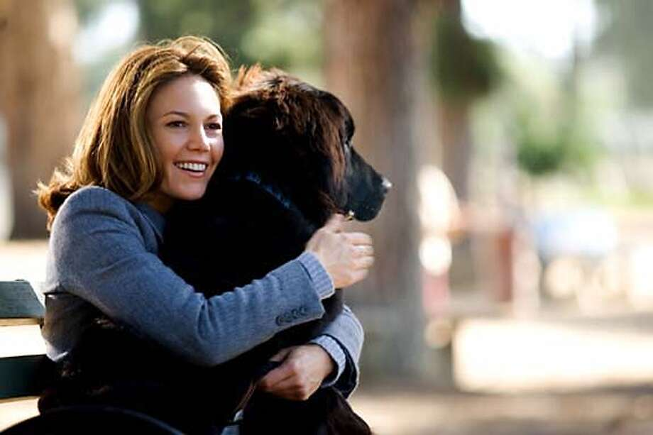 "Actors Diane Lane is shown in an undated publicity photo released July 26, 2005 in a scene from her new film ""Must Love Dogs"". Lane plays a woman feigning her love of dogs to meet the perfect man. The film opens in the U.S. July 27, 2005. NO ARCHIVES REUTERS/Claudette Barius/Warner Bros/Handout Ran on: 07-29-2005  Diane Lane is a single woman whose family is determined to fix her up in &quo;Must Love Dogs.&quo; Photo: HO"