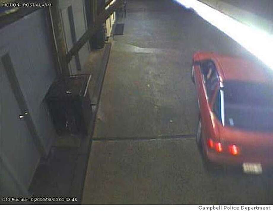 From the surveillance video at the duck massacre, Delta Queen car wash in Campbell.