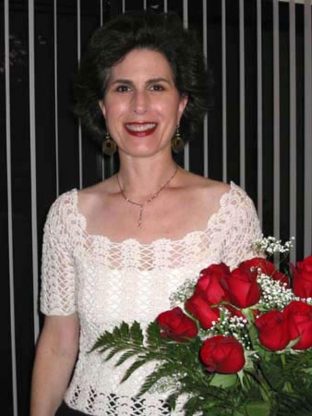 Obituary photo of Sandra Britt. Sandy on her birthday 2 wks after diagnosis