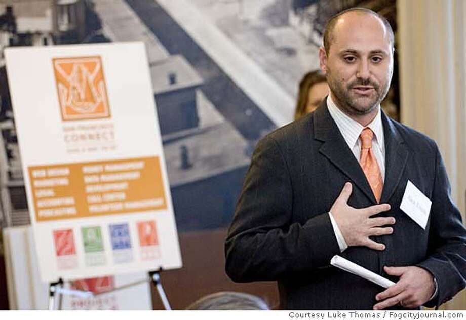 Alex Tourk  Mandatory credit: Courtesy Luke Thomas/Fogcityjournal.com Ran on: 02-02-2007  Alex Tourk worked as Newsom's deputy chief of staff and then became his campaign manager.  Ran on: 02-02-2007  Alex Tourk and Ruby Rippey-Tourk once were a prominent City Hall power couple.  Ran on: 02-02-2007 Ran on: 02-02-2007 Photo: Luke Thomas/www.fogcityjournal