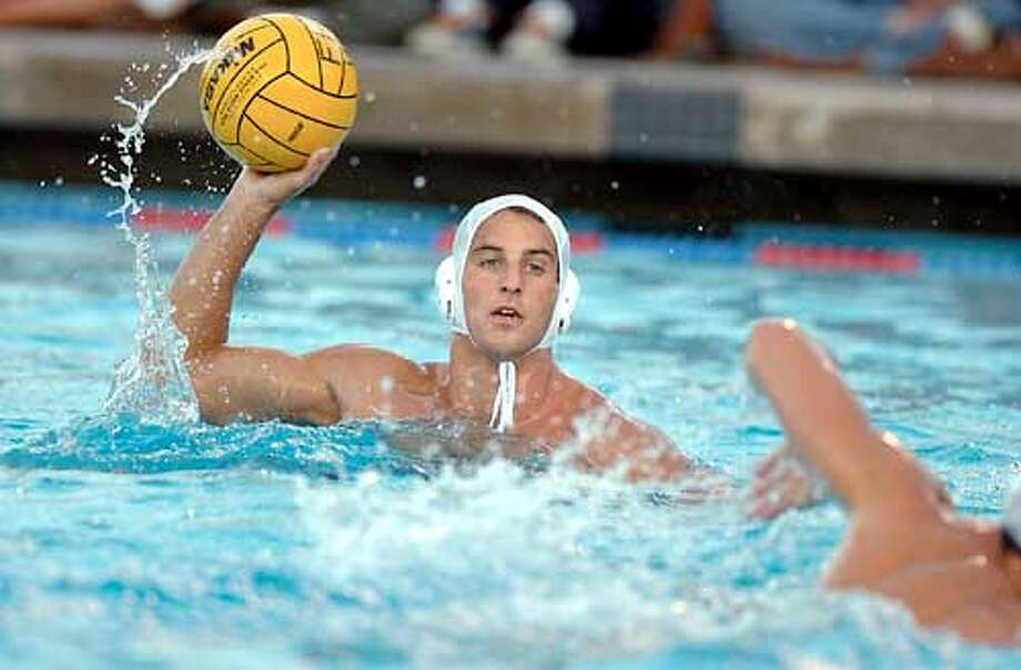 WIGO-2 For Crumpacker Sports story on Water Polo; USA Water Polo team captain Wolf Wigo on 5/6/03 in . Photo Credit: Mario Scussel / SF Chronicle Photo: HO