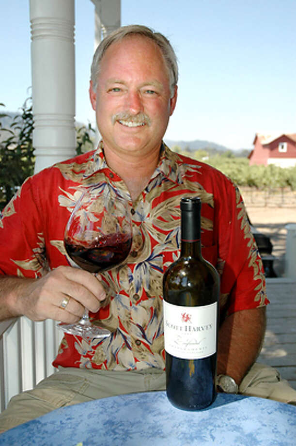 Winemaker Scott Harvey Ran on: 08-11-2005  Terri Photo: Hulda N.