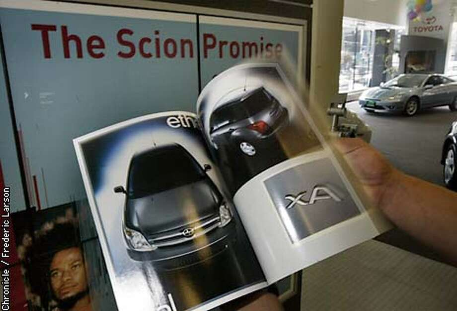 SCIONA_5/11/03_COLOR_advance_Business_I3_57p11 x full depth_rn/848 Photo: FREDERIC LARSON
