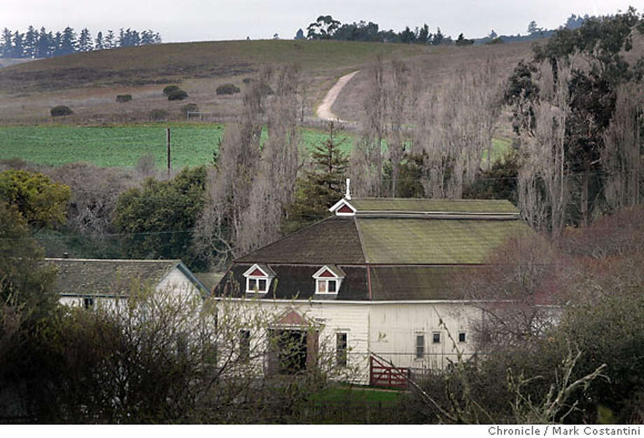 Wilder Ranch --- for Land15--historic buildings and trail leading to ridge.  Photo: Mark Costantini / San Francisco Chronicle Photo: Mark Costantini