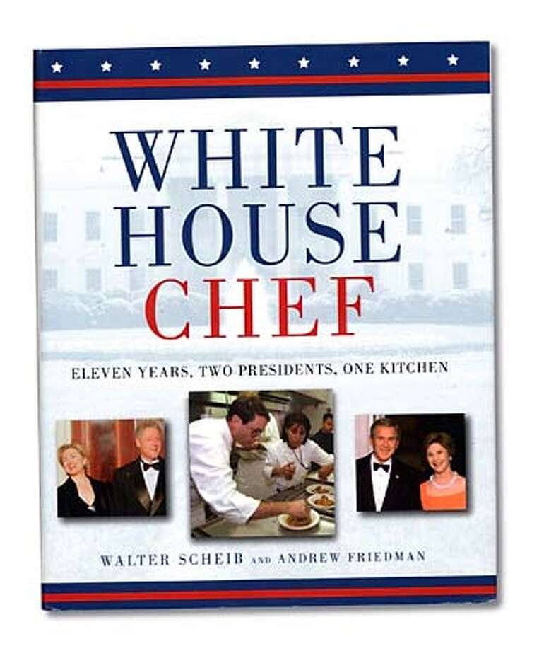"Book cover art for, ""White House Chef."" For: Food section's book review Photo: Handout"