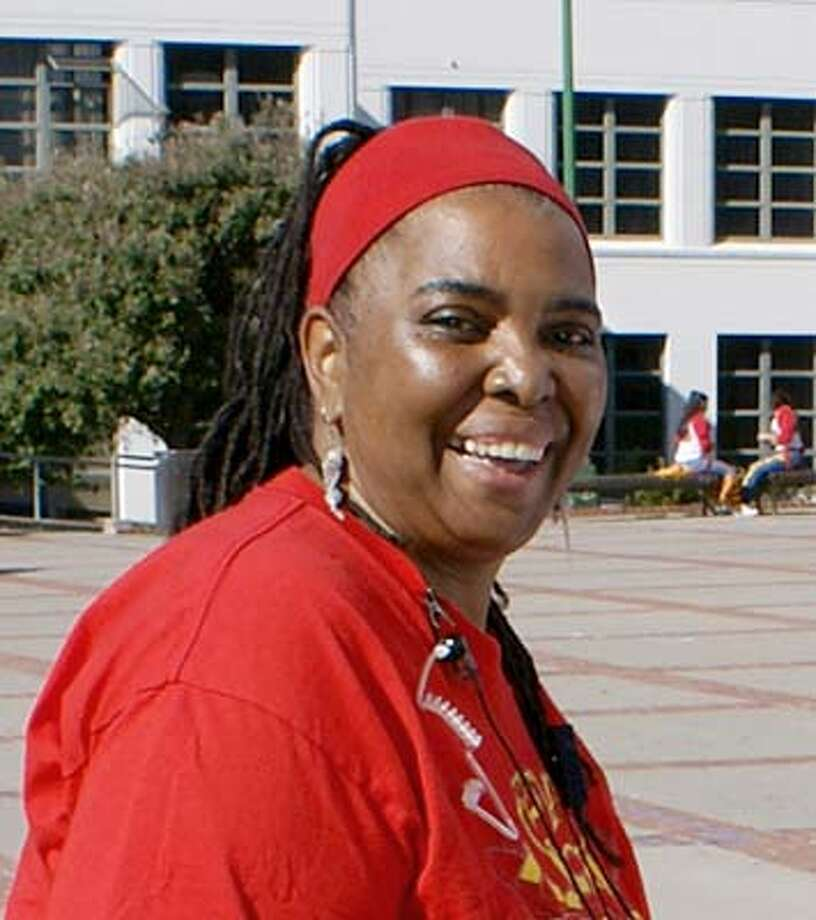 Photo of Denise Brown, vice principal at Berkeley High, who died Feb 2.  Ran on: 02-14-2007  Administrator denise brown, who didn't use capitals in her name, was the &quo;heart and soul&quo; of Ber- keley High.  Ran on: 02-14-2007 Photo: Handout