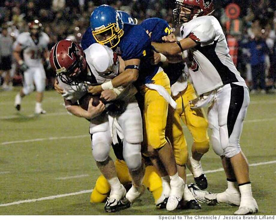 Two-sport standout Ryan Whalen is Monte Vista's best player on the court, averaging 12 points and seven rebounds, and he made The Chronicle's first-team All-Metro list as a receiver with 76 receptions for 1,052 yards and 13 touchdowns in the regular season. Photo by Jessica Brandi Lifland, special to the Chronicle