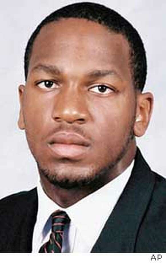 ** FILE ** Top NFL draft prospects are shown in these undated handout photos. Alex Ofili, DT, Michigan; Kirk Morrison, LB, San Diego State; C.J. Mosley, DT, Missouri; Michael Munoz, OT, Tennessee; Damien Nash, RB, Missouri; Donte Nicholson, S, Oklahoma; Kyle Orton, QB, Purdue; Roscoe Parrish, WR, Miami; Mike Patterson, DT, Southern Cal; David Pollack, DE, Georgia; Brodney Pool, S, Oklahoma; Dante Ridgeway, WR, Ball State. (AP Photo) Ran on: 04-24-2005 Ran on: 04-24-2005 Ran on: 04-24-2005 Ran on: 08-09-2005  Kirk Morrison hasn't forgotten his football roots at Bishop O'Dowd. Ran on: 08-09-2005  Kirk Morrison hasn't forgotten his football roots at Bishop O'Dowd.