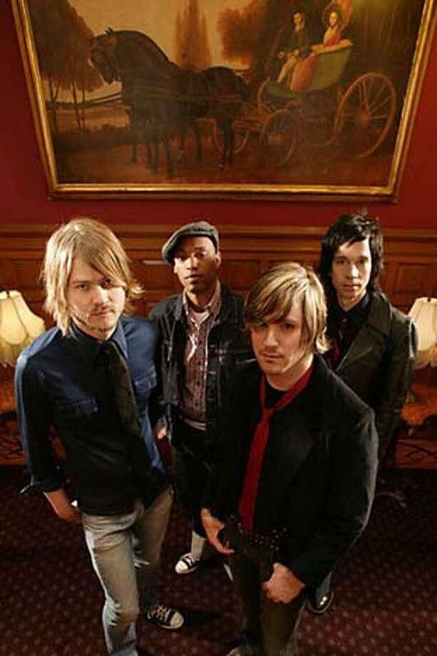 The band Little Yellow Perfect Photo: Jonah Bierlein
