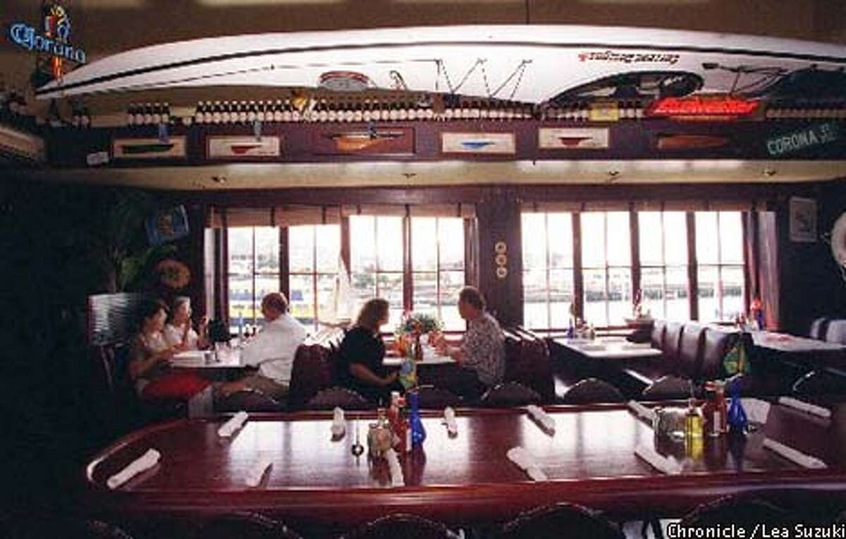 Crab House at Pier 39 draws visitors with its waterfront views. / Lea Suzuki / The Chronicle