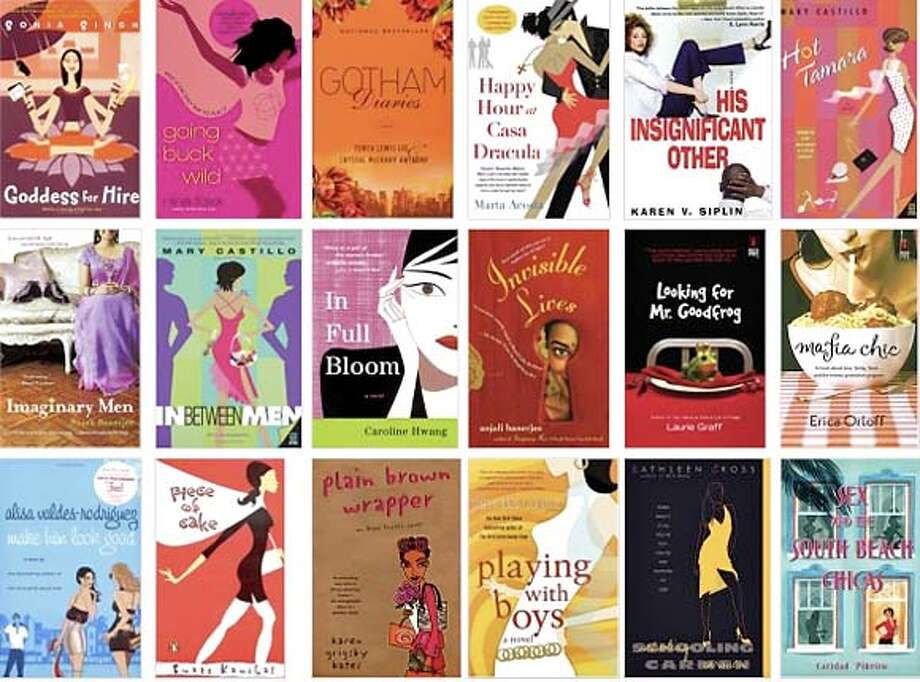 A buffet of multicultural chick lit is a feast for the eyes. Courtesy of CandyCoveredBooks.com