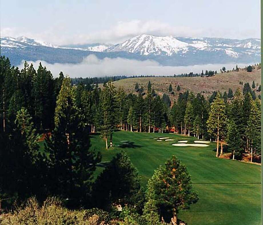 Must credit: Joann Dost  Caption: Intimidating 1st hole of the scenic Dragon golf course at Gold Mountain. Photo: Joann Dost