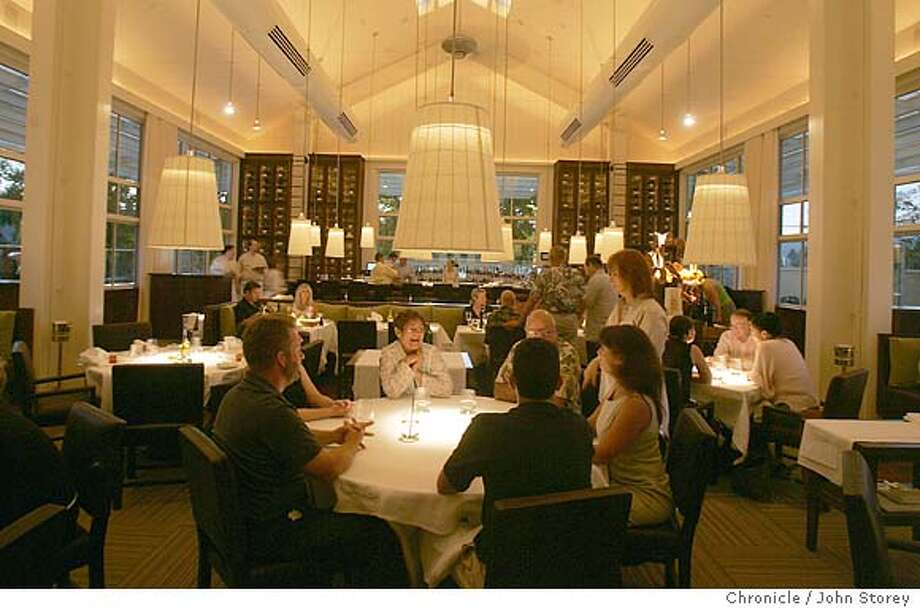 "Restaurant review of ""Press"" in St. Helena. John Storey St. Helena Event on 7/12/05 Photo: John Storey"