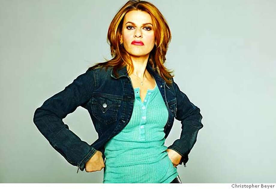 Sandra Bernhard  Ran on: 02-11-2007  Sandra Bernhard, who plays three shows at Bimbo's this week, says she has never felt better in her life. Photo: Christopher Beyer
