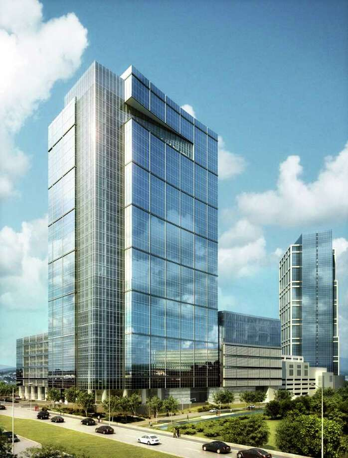 Preliminary designs call for a 31-story Anadarko building, ready to be occupied early in 2014. Photo: Handout