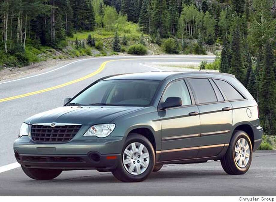 The 2007 Chrysler Pacifica Touring is a wagon for families who have not jettisoned their notions of style, nor their desire for driving pleasure. The Pacifica gives them those things plus safety and utility. Illustrates WHEELS-PACIFICA (category l), by Warren Brown � 2007, The Washington Post. Moved Friday, Jan. 26, 2007. (MUST CREDIT: Chrysler Group) Photo: Photo Courtesy Chrysler