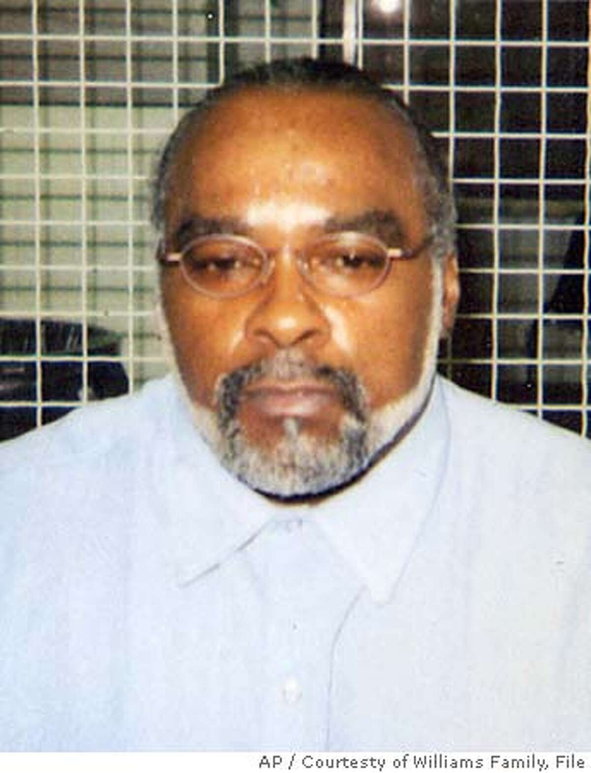 ** FILE ** In this undated photo provided by the family of Stanley Williams, Stanley