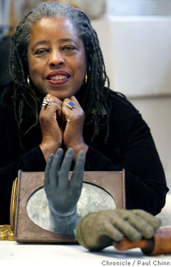 Artist Mildred Howard is seen at her studio in Berkeley, Calif. on Wednesday, Feb. 7, 2007. Howard is the subject of a profile for Black History Month.  PAUL CHINN/The Chronicle  **Mildred Howard Photo: PAUL CHINN