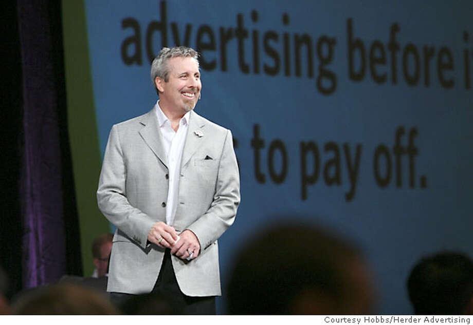 Don Hobbs, one half of the dynamic marketing duo Hobbs/Herder. Photo courtesy Hobbs/Herder Advertising